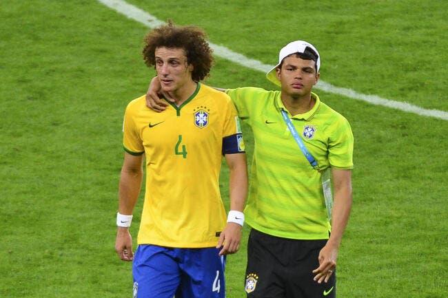 Alex remplacé par David Luiz, le PSG va pleurer