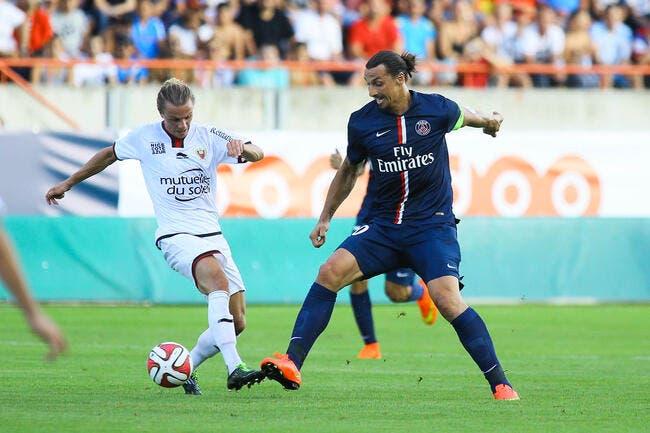 Le PSG domine Nice avant de filer en Asie
