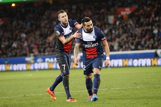 Le PSG calme direct le Milan AC pour Lavezzi
