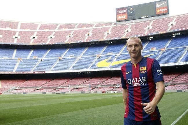 Supporters, joueurs, presse, Mathieu prend cher au Barça