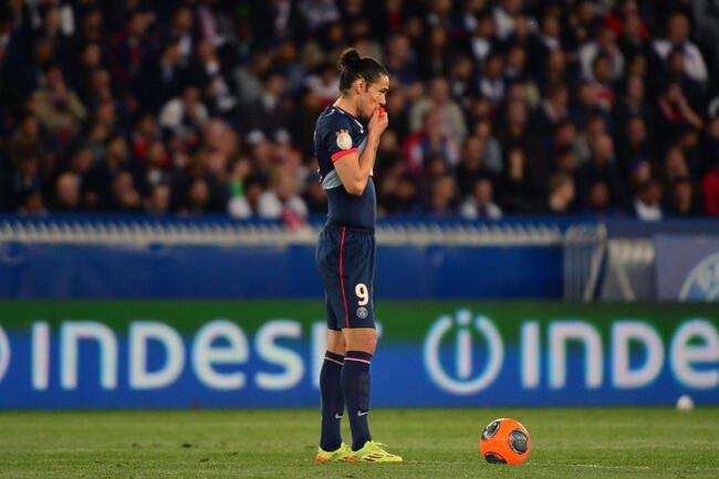 Man United est loin du compte pour arracher Cavani au PSG
