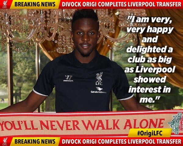 Origi signe à Liverpool, mais reste un an à Lille