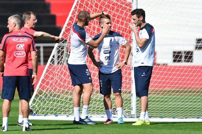 Benzema défie Griezmann avant le derby madrilène