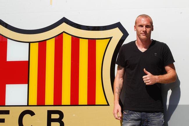 La recrue française du Barça fume, et alors ?