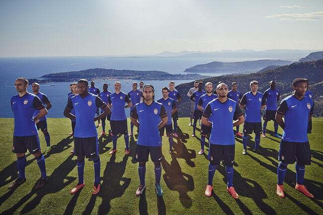 Monaco présente son maillot extérieur en hommage à la mer
