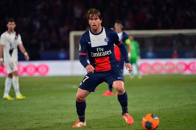 Maxwell a levé le pied en fin de saison au PSG