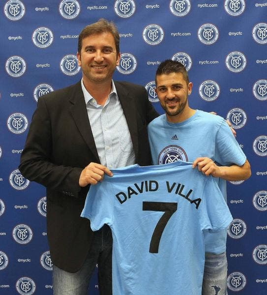 Officiel : David Villa signe 3 ans avec le New York FC