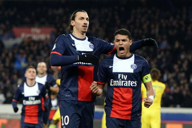 Thiago Silva et Ibrahimovic, parfois ça chauffe au PSG