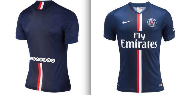 Le PSG dévoile officiellement son maillot 2014-2015 !