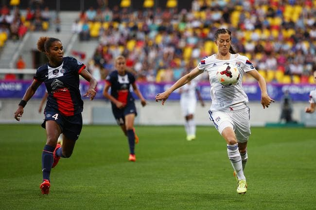 Les filles de l'OL battent le PSG et gagnent la Coupe de France