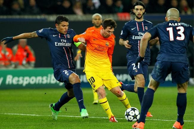 Thiago Silva a trouvé l'arme fatale pour stopper Messi