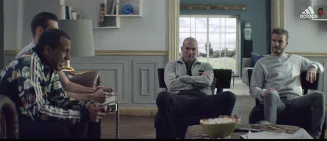 Vidéo : Ne mettez pas Zidane, Lucas et Bale dans le manoir de Beckham