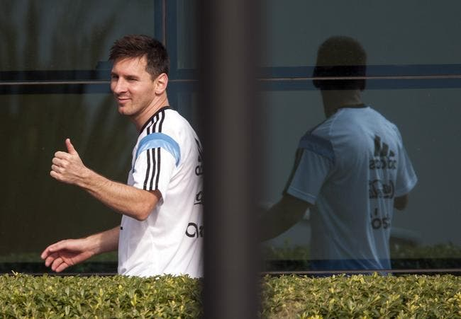 Messi vomit, mais l'Argentine ne tremble pas