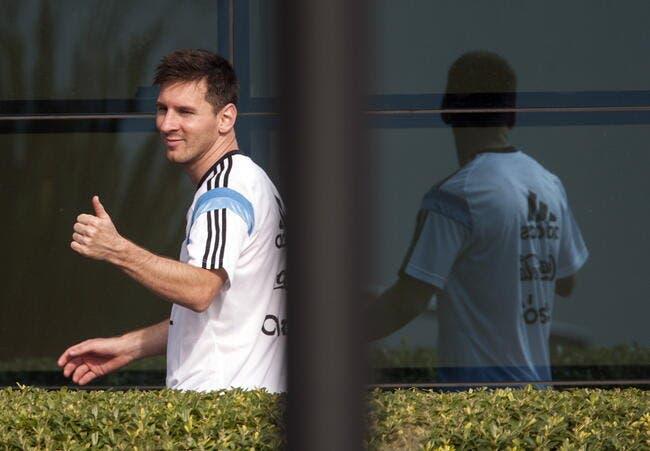 Messi vomit, mais l'Argentine ne tremble pas