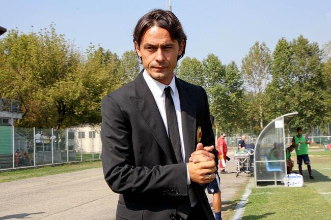 Officiel : Filippo Inzaghi nommé entraîneur du Milan AC