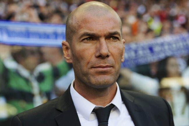Zidane n'est pas encore entraîneur...et pour cause