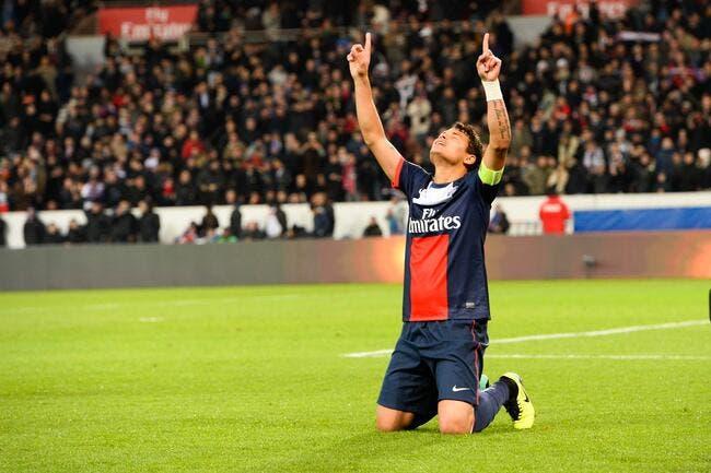 Le PSG et Thiago Silva ont eu besoin de Dieu pour battre Bordeaux