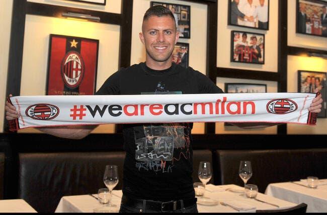 Ménez heureux de signer pour «un grand club» comme le Milan AC