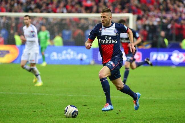 Ménez quitte le PSG et va signer pour 3 ans au Milan AC