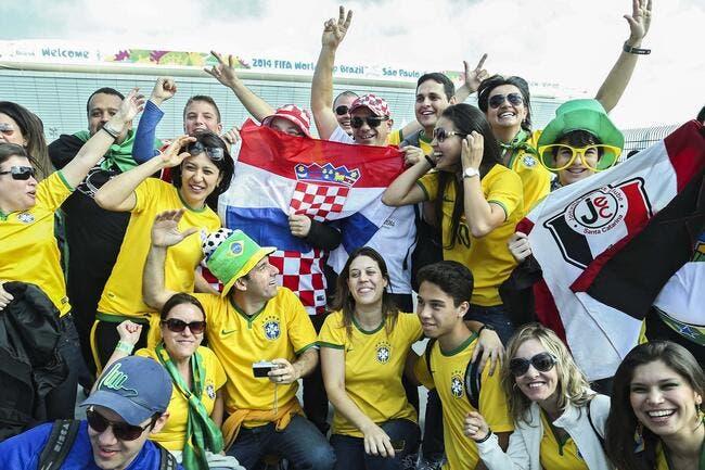 Brésil – Croatie : les compos