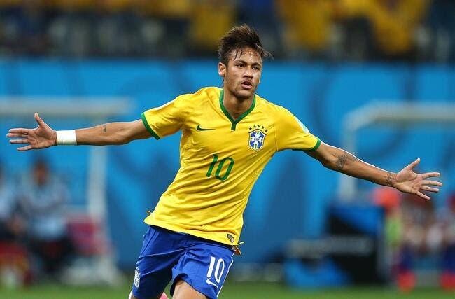 Neymar frappe deux fois, et le Brésil s'en sort très bien