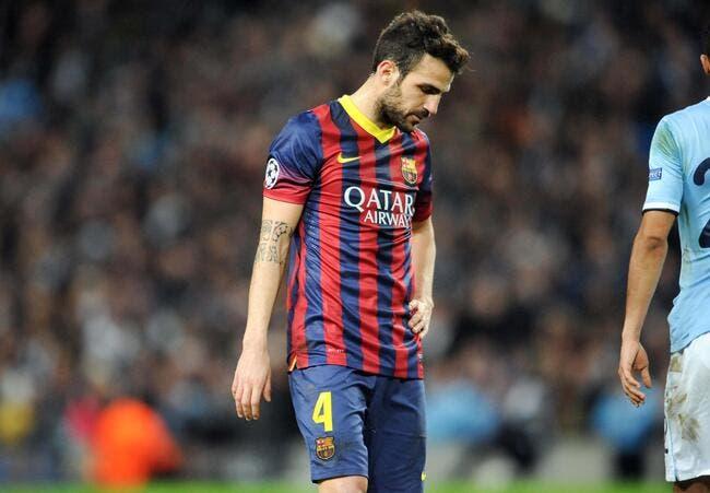 Le Barça allume Fabregas après sa signature à Chelsea