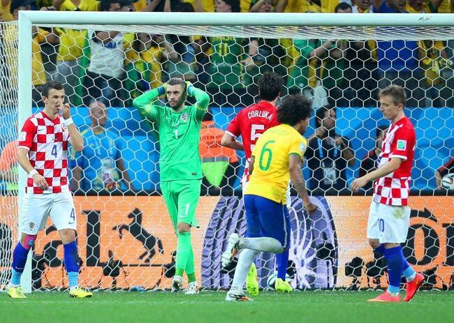 Le Brésil avoue avoir eu de l'aide face à la Croatie
