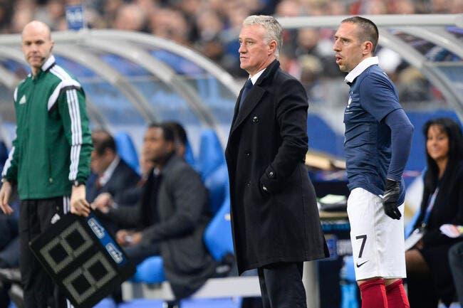Deschamps refuse la polémique avec Ribéry