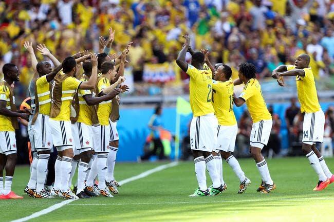 La Colombie se fait voir, pas les Grecs