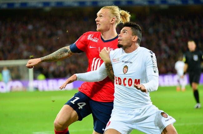 Monaco a ciblé un cador de Lille au mercato