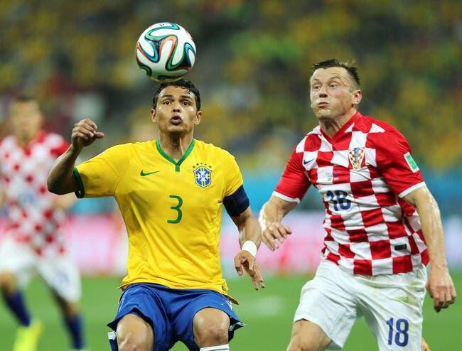Thiago Silva envoie balader la Croatie et ses contestations