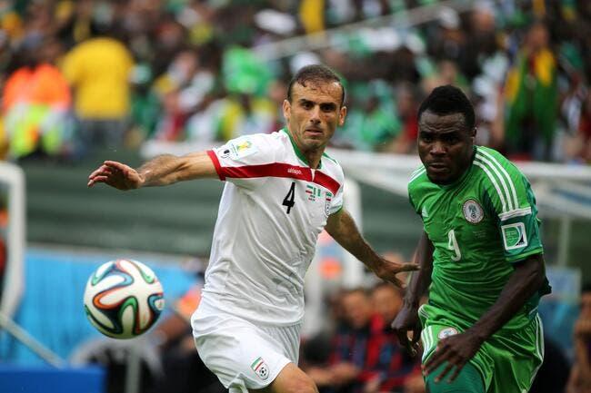 L'Iran prend un point au Nigéria