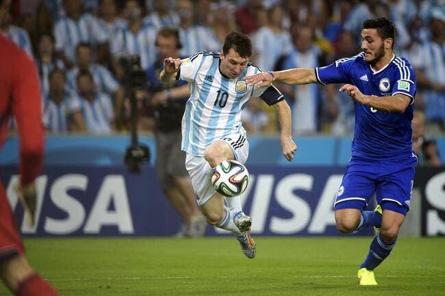 Un éclair de Messi, et l'Argentine fait plier la Bosnie