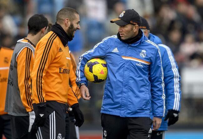 Benzema compte sur l'effet Zidane pour doper les Bleus