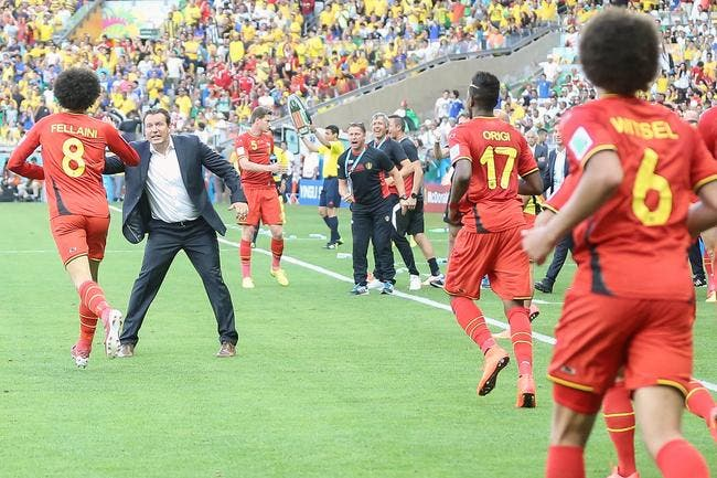 Les Diables Rouges sortent de leur boite devant l'Algérie