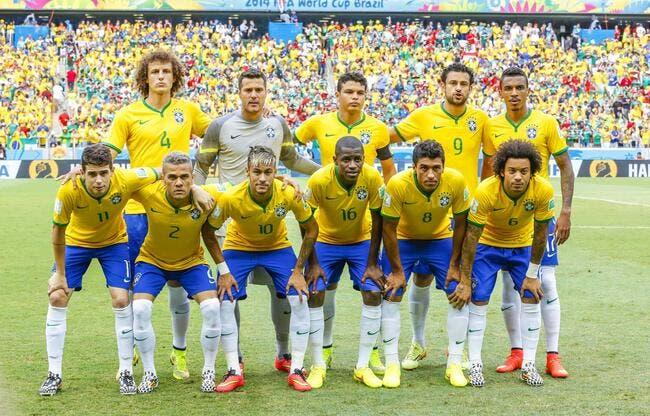 Larqué détruit l'équipe du Brésil