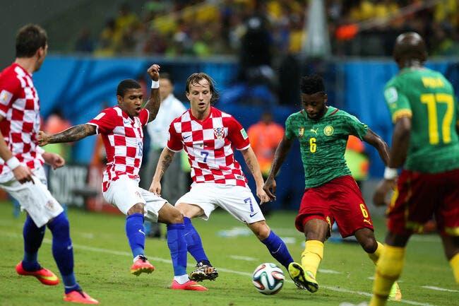La Croatie se régale, le Cameroun se ridiculise