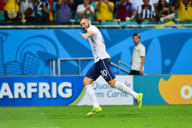 Benzema encore joueur du match face à la Suisse