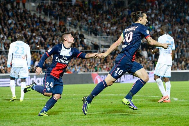 Ibrahimovic dit merci à l'OM d'avoir réveillé le PSG