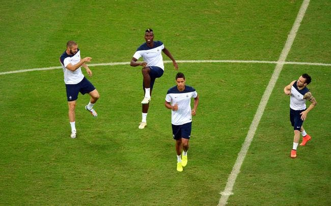 Pogba remplaçant contre la Suisse