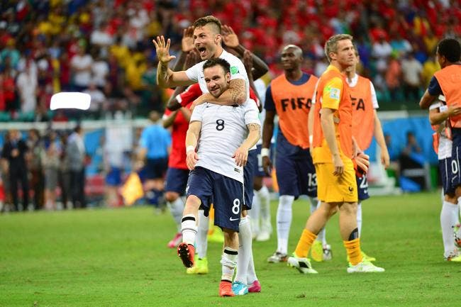 Valbuena retient « du beau jeu et du plaisir » pour la France