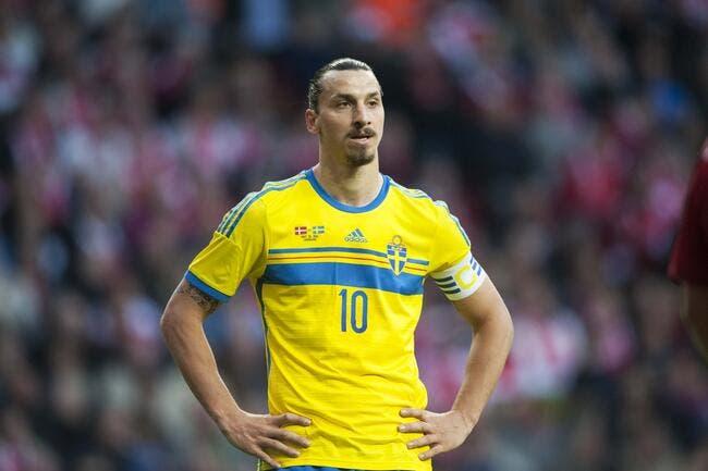 Ibrahimovic avait la larme à l'oeil au Brésil
