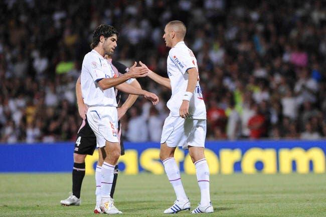 Juninho a vu grandir le Benzema de l'OL et il adore