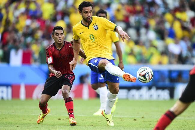 Fred a l'habitude de se faire démolir au Brésil