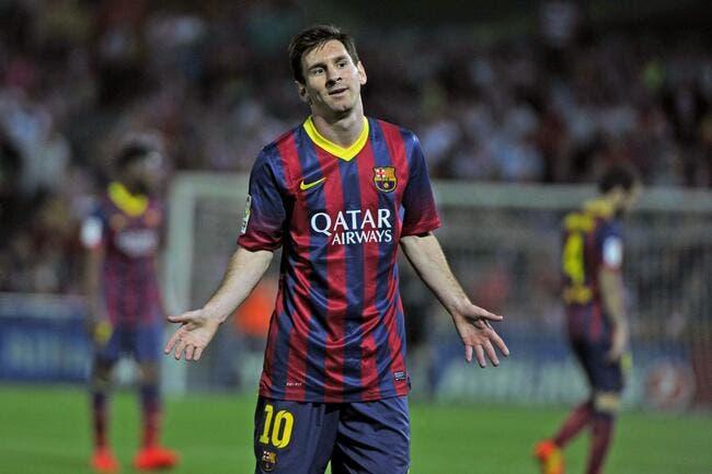 Quand Messi se fait flasher par le fisc, ça lui coûte 32,9ME