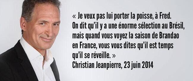 Christian Jeanpierre fait le buzz avec sa dernière perle