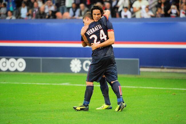 Cavani prévient ses amis du PSG avant Italie-Uruguay
