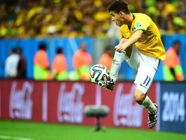 Le PSG a contacté Oscar, le Brésilien répond