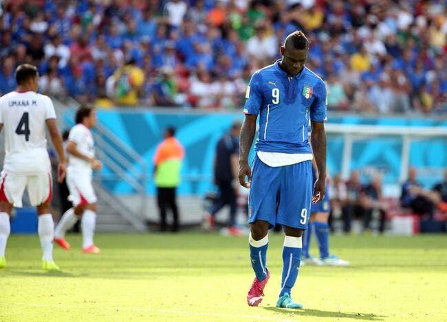Balotelli s'attire les foudres d'un coéquipier en Italie