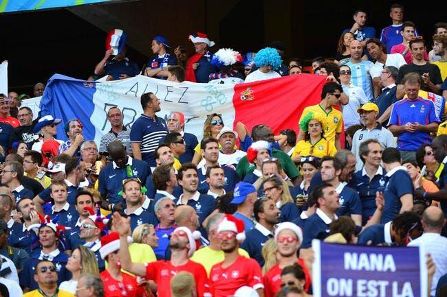 L'engouement record pour les Bleus au Brésil